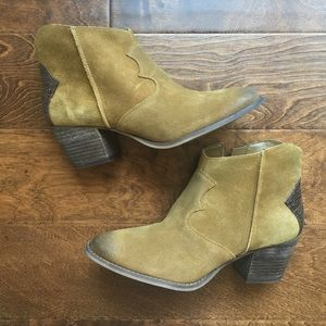 Marc Fisher Western Style Ankle Boots